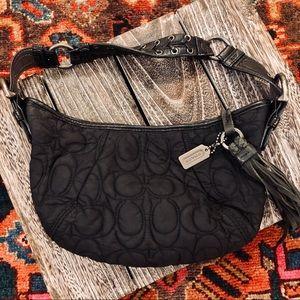 Coach soho mini signature quilted shoulder bag